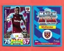 West Ham United Cheikhou Kouyate Senegal 353